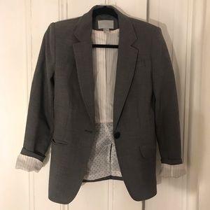 H&M grey blazer of matching set